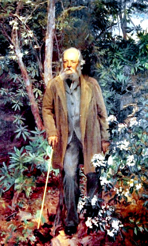 F. L. Olmsted by Sargent