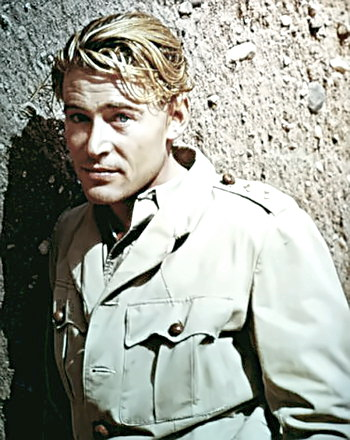 Actor Peter O�Toole as Lawrence