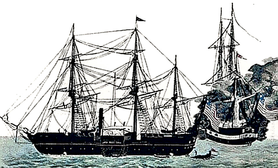Commodore Perry's black ships