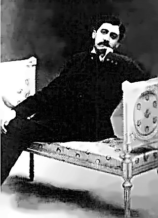 Writer Marcel Proust in 1896