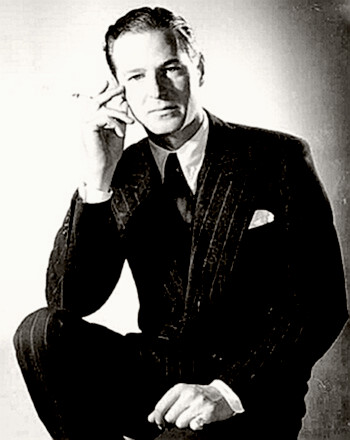 Playwright Terence Rattigan