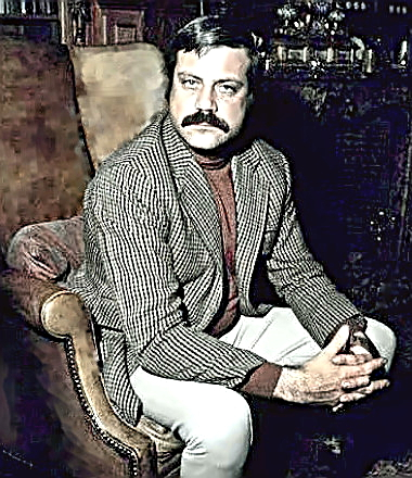 Actor Oliver Reed