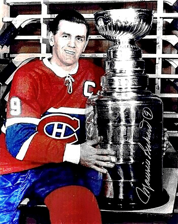 Hockey Great Maurice Richard