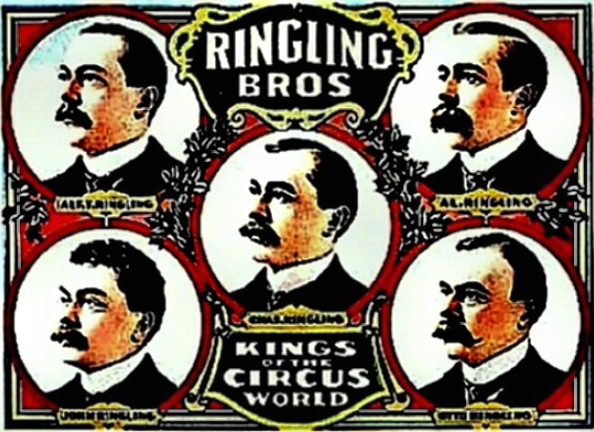 Ringling Brothers Circus Poster