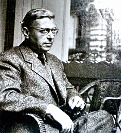 Philosopher Jean-Paul Satre