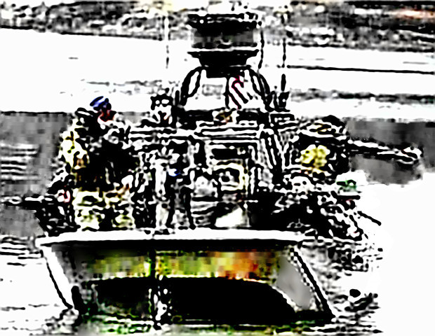Navy SEAL Team in boat