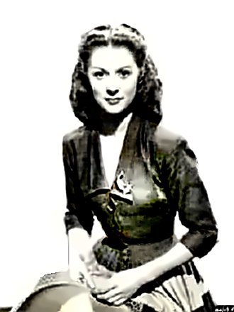 Actress Moira Shearer
