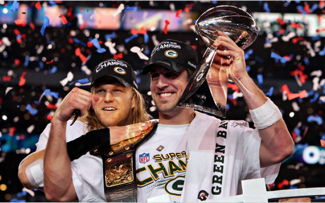 Super Bowl 45 - Aaron Rodgers 2011