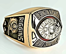 Super Bowl XVII ring