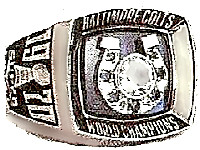 Superbowl V ring