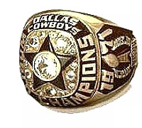 Superbowl 6 - official ring