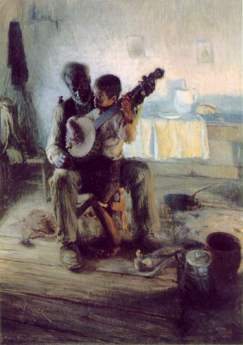 Henry Tanner - The Banjo Lesson