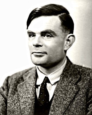 Philosopher Alan Turing