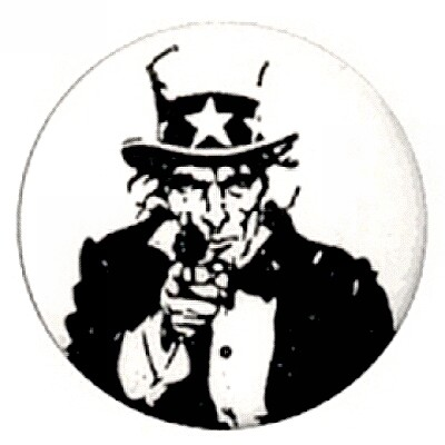 Uncle Sam really wants You button
