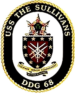 USS The Sullivans (DDG-68)- ship's patch