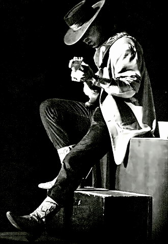 Blues Guitarist Stevie Ray Vaughan