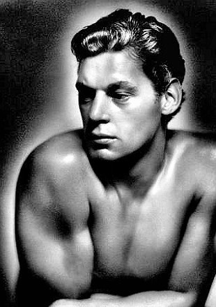 Olympian Johnny Weissmuller