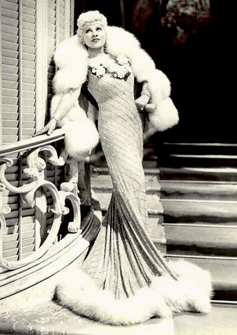 Actress and Film Star Mae West