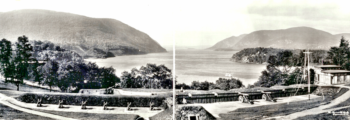 The Hudson at West Point, New York (looking North)