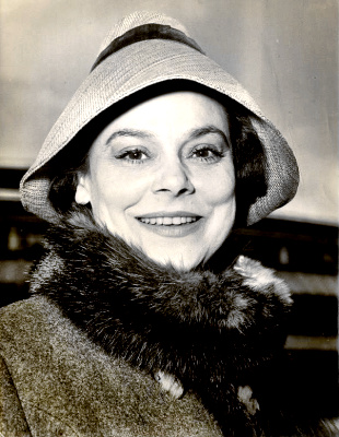 Actress Irene Worth